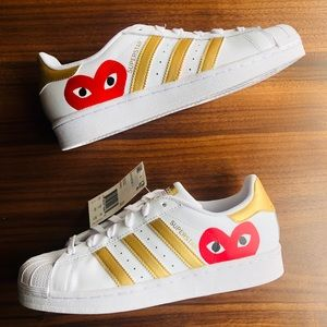 Ongekend adidas Shoes | New Superstar Custom Cdg Comme Des Garcons | Poshmark GD-92